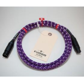 Fjord Audio Fjord XLR Electric Lady Purple 1.5m マイクケーブル