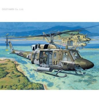 ドラゴン 1/35 アメリカ海兵隊 UH-1N ガンシップ プラモデル DR3540(ZS07922)