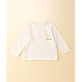 COMME CA FILLE / コムサ・フィユ アニマルプリント長袖Tシャツ