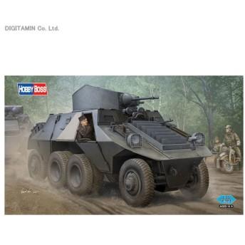 1/35 ドイツ ADGZ 8輪重装甲車 プラモデル ホビーボス 83889(ZS21159)