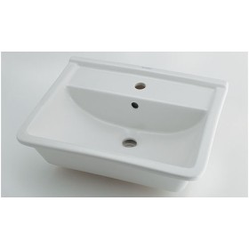 カクダイ DURAVIT デュラビット 角型洗面器 #DU-0302560000(1ホール)