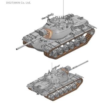 1/35 アメリカ軍 主力戦車 M48A5 パットン 105mm砲 プラモデル ドラゴン DR3611(ZS36263)