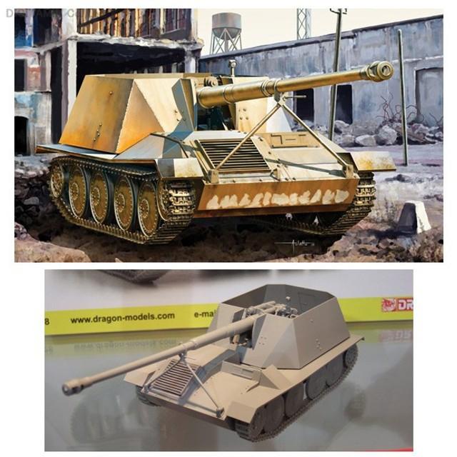 ヴァッフェントレーガー アルデルト/ラインメタル試作車輌 プラモデル 1/35 WW.II ドイツ軍 8.8cm Pak 43 サイバーホビー CH6728(ZS12518)