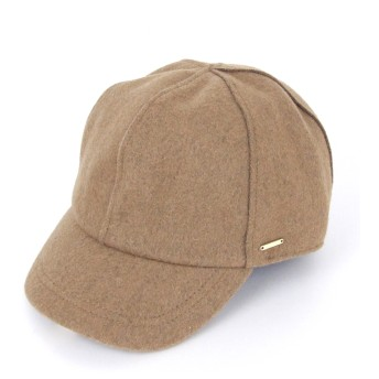 キャップ - AFFRANCHIR ウールキャップ 帽子 無地 チェック
