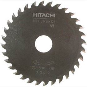 HiKOKI(日立工機) 日立チップソー(石膏ボード用.薄刃)100mm32枚刃 ブラック 0032-5234