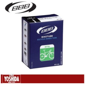 (キャッシュレス還元対象)ビービービー(BBB) BTI-66 MTBチューブ 26x3.00 仏式48mm