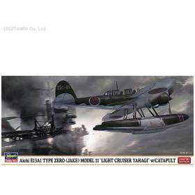 """ハセガワ 1/72 愛知 E13A1 零式水上偵察機 11型""""矢矧搭載機""""w/カタパルト プラモデル 02154(F2854)"""