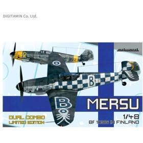 エデュアルド 1/48 Bf109G フィンランド空軍 デュアルコンボ リミテッドエディション プラモデル EDU11114(ZS43035)