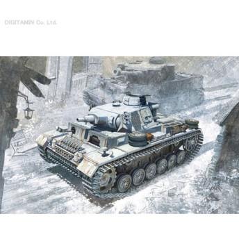 ドラゴン 1/35 WW.II ドイツ軍 III号戦車N型 w/ヴィンターケッテ 第502重戦車大隊 レニングラード戦線 1943 プラモデル DR6606(ZS04309)