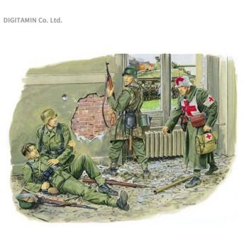 1/35 WW.II ドイツ軍 衛生兵&負傷兵 傷ついた戦友たち アーヘン 1944 プラモデル ドラゴン DR6119(ZS26378)