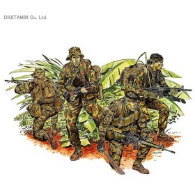 1/35 ベトナム戦争 アメリカ陸軍 特殊部隊 ラープ LRRP プラモデル ドラゴン DR3303(ZS22388)