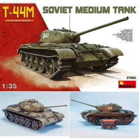 ミニアート 1/35 ソビエト T-44M中戦車 プラモデル MA37002(ZS08593)