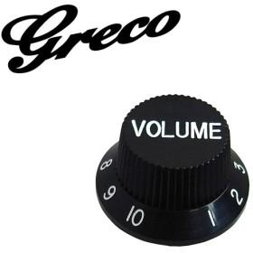 Greco WS-STD Volume Knobs Black ヴォリューム・ノブ