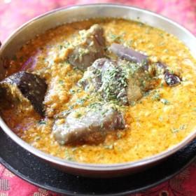 キーマバイガン kima baigan(eggplant) curry HALAL