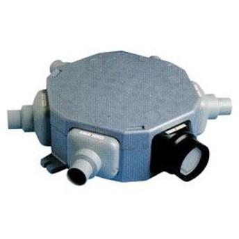 高須産業 24時間換気システム5方向5分岐チャンバーボックス【TSK-5C-50】