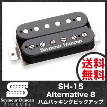 Seymour Duncan SH-15 Alternative 8 Black エレキギターピックアップ