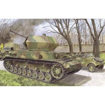 1/35 WW.II ドイツ軍 IV号対空戦車オストヴィント プラモデル
