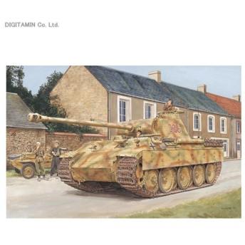 1/35 WW.II ドイツ軍 V号戦車 パンターA 後期型 ノルマンディ 1944 w/マジックトラック プラモデル ドラゴン DR6168MT(ZS24862)
