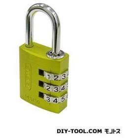 日本ロックサービス ABUSナンバー可変式南京錠145−30 イエロー 30ミリ ABUS 145-30YE