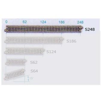 20-000 カトー KATO 直線線路248mm(4本入) Nゲージ(N0225)