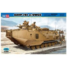 HOBBY BOSS 82412 1/35 AAVP-7A1 新砲塔搭載車 プラモデル(X1090)
