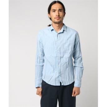 Frank & Eileen カジュアルシャツ LUKE/POPLIN ライトブルー/X-SMALL(エストネーション)◆メンズ シャツ/ブラウス