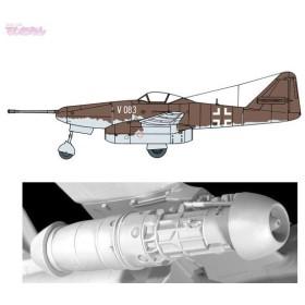 サイバーホビー 1/48 Me262A-1a/U4 ボマーインターセプター w/エンジン プラモデル CH5567 再販【未定予約】