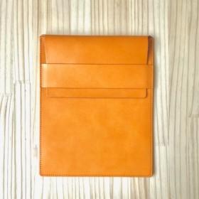 25cfd9cffade 薄型 A5Medium ケース(A5ノートとペン、iPad mini など)/ イタリアンレザー