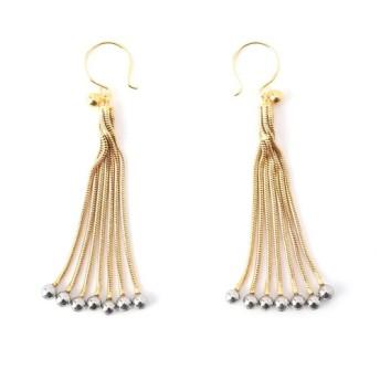 jorge morales Pierced earrings ゴールド/FREE(エストネーション)◆レディース ピアス(両耳用)