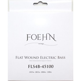 FOEHN FLS4B-45100 Flat Wound Electric Bass Strings Regular Light 45-100 フラットワウンドエレキベース弦