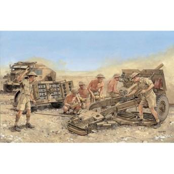 1/35 WW.II イギリス軍 25ポンド砲 Mk.II プラモデル