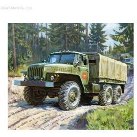 ズベズダ 1/100 ウラル4320 ロシア 6×6トラック プラモデル ZV7417(F5693)