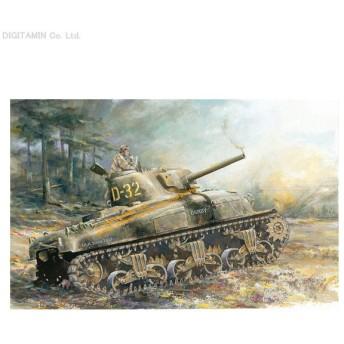 ドラゴン 1/72 WW.II アメリカ軍 M4A1 シャーマン ノルマンディ プラモデル DR7273(ZS08226)