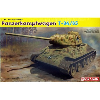 1/35 WW.II ドイツ軍 鹵獲戦車 T-34/85 第122工場製 1944年生産型 プラモデル