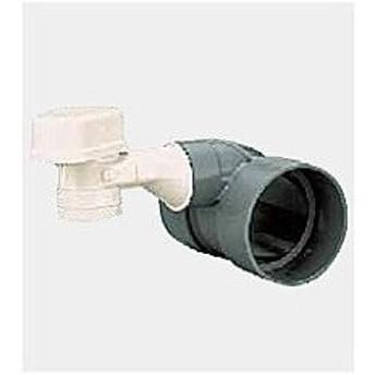 KVK 水栓金具【AAVM-FU40-K1】低位置設置型排水用通気弁(樹脂製) 排水通気弁水平取出しVU用40