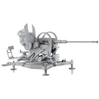 1/6 WW.II ドイツ軍 20mm 対空機関砲 Flak38 後期型 プラモデル