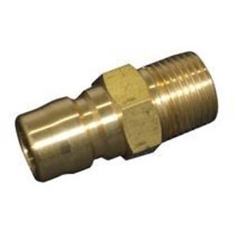 ヤマトエンジニアリング 真鍮STYカプラ/プラグ STY12-PM-BS