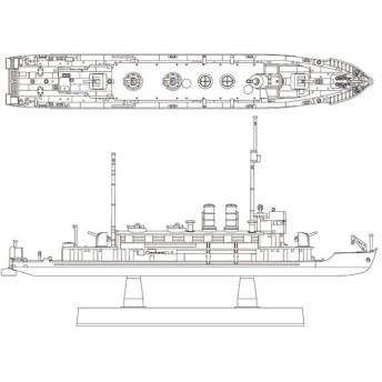 1/700 勢多 艦船 フルハルモデル プラモデル アオシマ(Z9211)