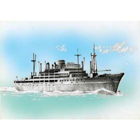 フジミ 1/700 特シリーズ 大阪商船所属 あるぜんちな丸 プラモデル(U3912)