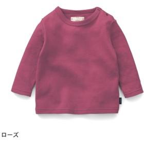 長袖Tシャツ Tシャツ 長袖 綿100% 通園 通学 おしゃれ 子供 服 こども キッズ 女の子 ジータ GITA ローズ 70 80 90 100