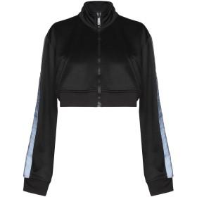《期間限定 セール開催中》MARCELO BURLON レディース スウェットシャツ ブラック S 55% ポリエステル 45% コットン