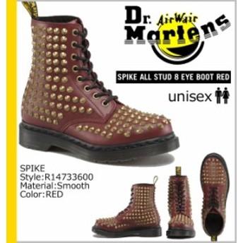 Dr.Martens ドクターマーチン 8ホール ブーツ SPIKE スムースレザー R14733600