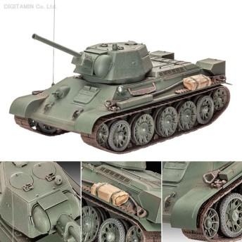 ドイツレベル 1/35 ソビエト T-34/76 プラモデル 03244(F5939)