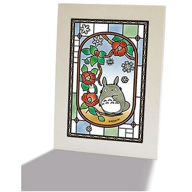【お買い得セット!】 アートクリスタルジグソーパズル となりのトトロ 椿咲く日&パネルセット