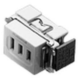 パナソニック 機器用3極コンセント 白 WCH1303W 住宅・配線・電設資材