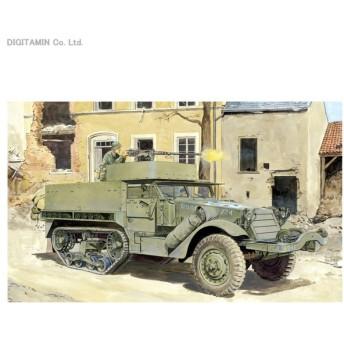 1/35 WW.II アメリカ軍 M3A1 ハーフトラック (3in1キット) プラモデル ドラゴン DR6332(ZS19779)