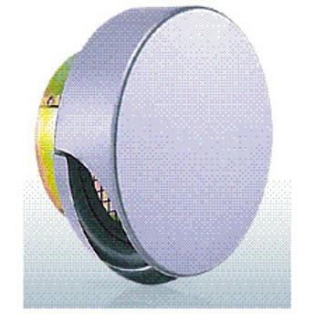 西邦工業【SNUD200MS】金網型3メッシュ・薄型フード・ワイド水切り付・防火ダンパー付外壁用ステンレス製換気口・薄型フラットフード