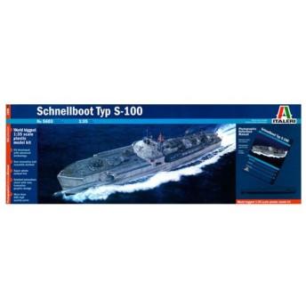 タミヤ イタレリ 1/35 魚雷艇シリーズ 5603 ドイツ海軍魚雷艇 S100 シュネルボート(資料写真集付)プラモデル(U4109)