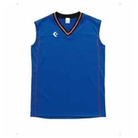 コンバース レディースゲームシャツ(Rブルー/ オレンジ・S) CONVERSE CB36712-2556-S 返品種別A