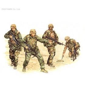 ドラゴン 1/35 アメリカ陸軍 第1歩兵師団 ビッグ・レッド・ワン 湾岸戦争 プラモデル DR3015(F7277)
